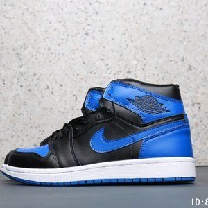 Nike Air Jordan 1 Black Blue